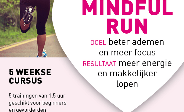 Start nieuwe 5-weekse Mindful Run cursus!