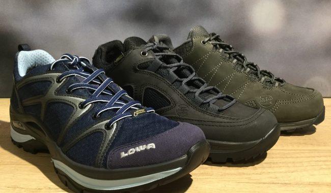 Verschillende type wandelschoenen