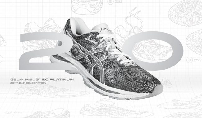 ASICS GEL-NIMBUS 20 PLATINUM EDITION VOOR HEREN & DAMES