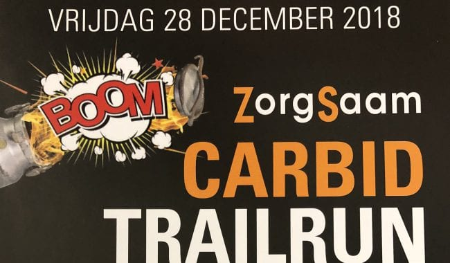 ZorgSaam Carbid Trailrun en ATB tocht 28 december
