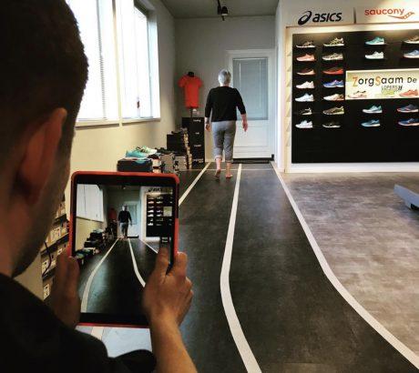 Loopanalyse sportpodo