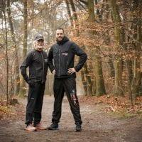 Bertus van Elburg en Daan Hardon ZorgSaam Trail Clinics