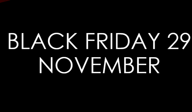 Black Friday op 29 november bij ZorgSaam Lopers Company!